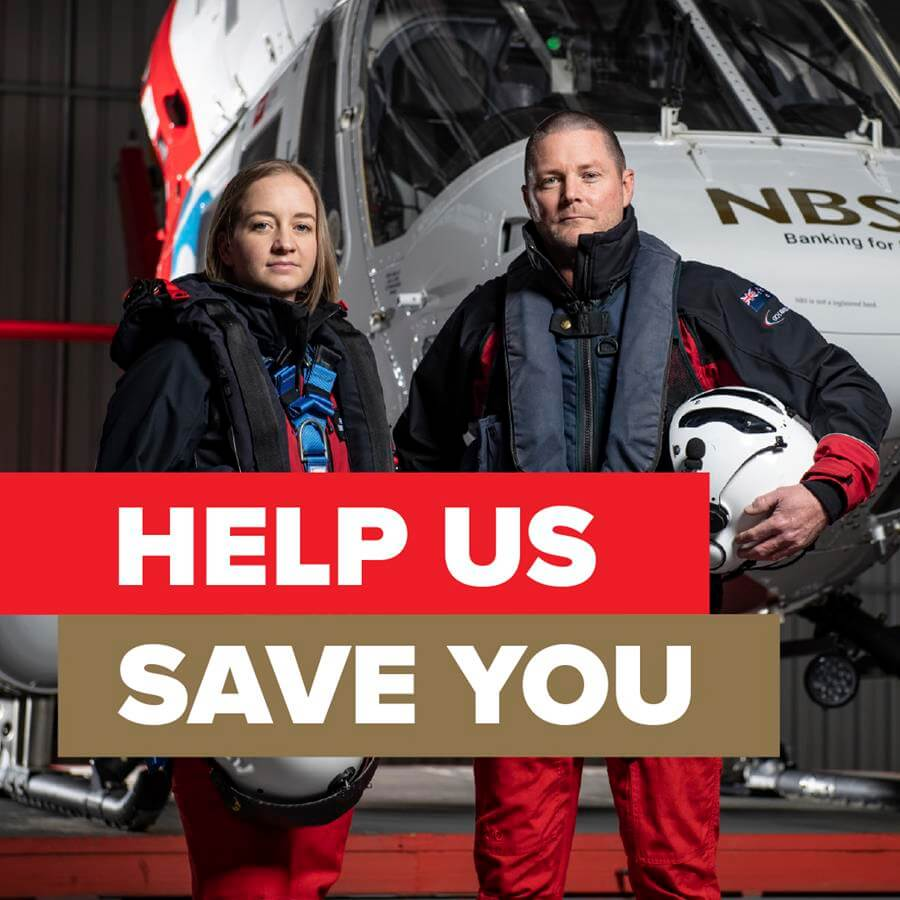 NBS Rescue Helicopter Appeal Month